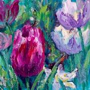 © Melanie Morstad - Luscious Tulips II