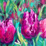 © Melanie Morstad - Luscious Tulips I