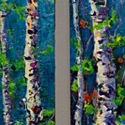 © Melanie Morstad - Dancing In The Woods I & II