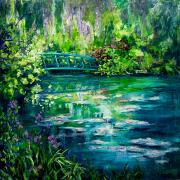 © Melanie Morstad - Monet's Bridge