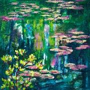 © Melanie Morstad - Monet's Waterlilies